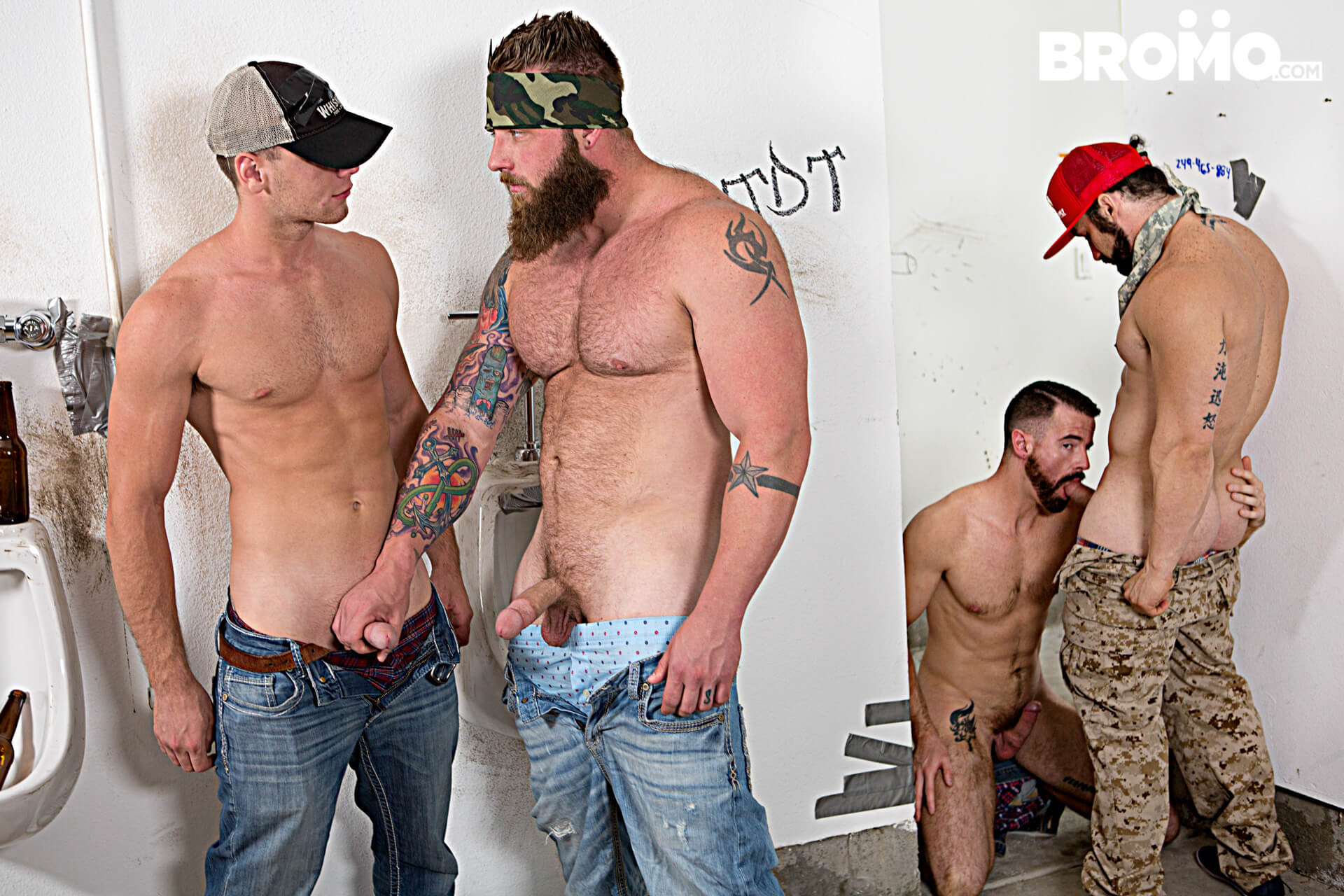 bromo the rednecks part 4 jaxton wheeler brandon evans aaron bruiser brendan patrick gay porn blog image 19