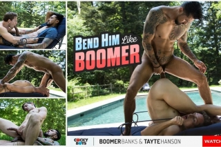 Cocky Boys » Bend Him Like Boomer » Boomer Banks Fucks Tayte Hanson