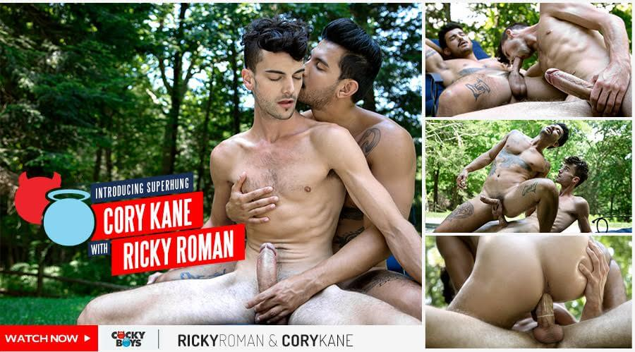 Cocky Boys » Introducing Superhung » Ricky Roman Fucks Cory Kane
