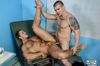 MEN.COM » Big Dicks At School » College Physicals Part 3 » Adam Bryant » Landon Mycles