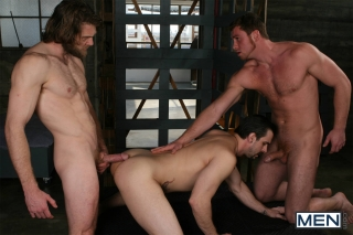 MEN.COM » Drill My Hole » Cum Right In » Colby Keller » Connor Maguire » Phenix Saint