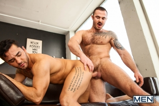 MEN.COM » Drill My Hole » Him Part 4 » Bruno Bernal » Jessy Ares