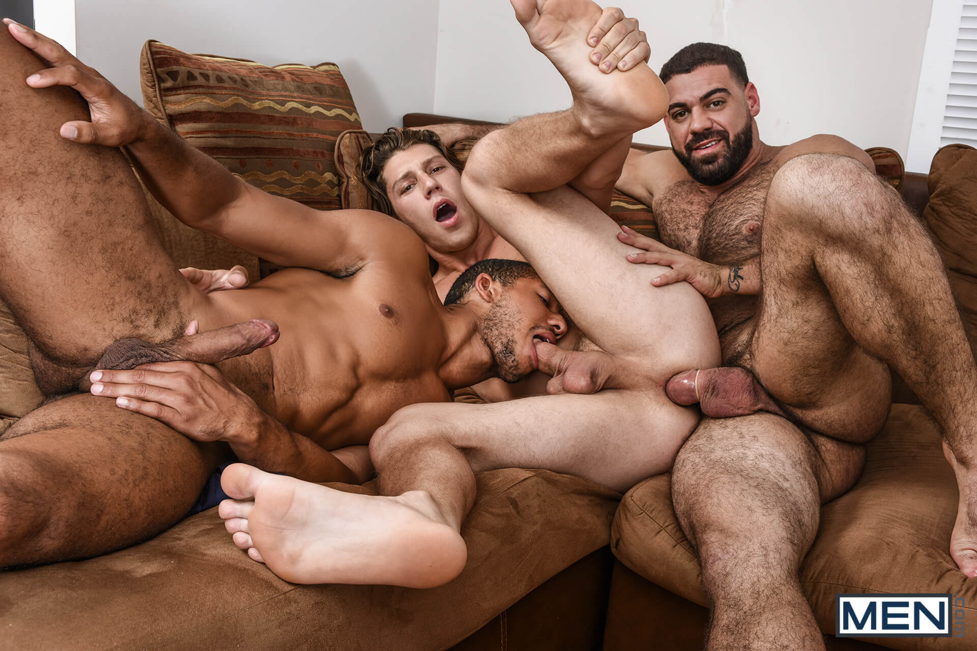 MEN.COM » Drill My Hole » Peepers Part 1 » Mike Maverick » Paul Canon » Ricky Larkin