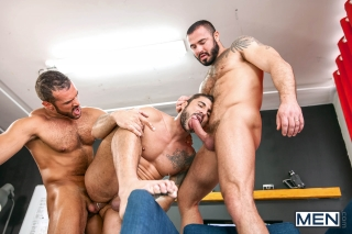 MEN.COM » Drill My Hole » Sex, Lies, And Surveillance Part 4 » Denis Vega » Jessy Ares » Max Toro