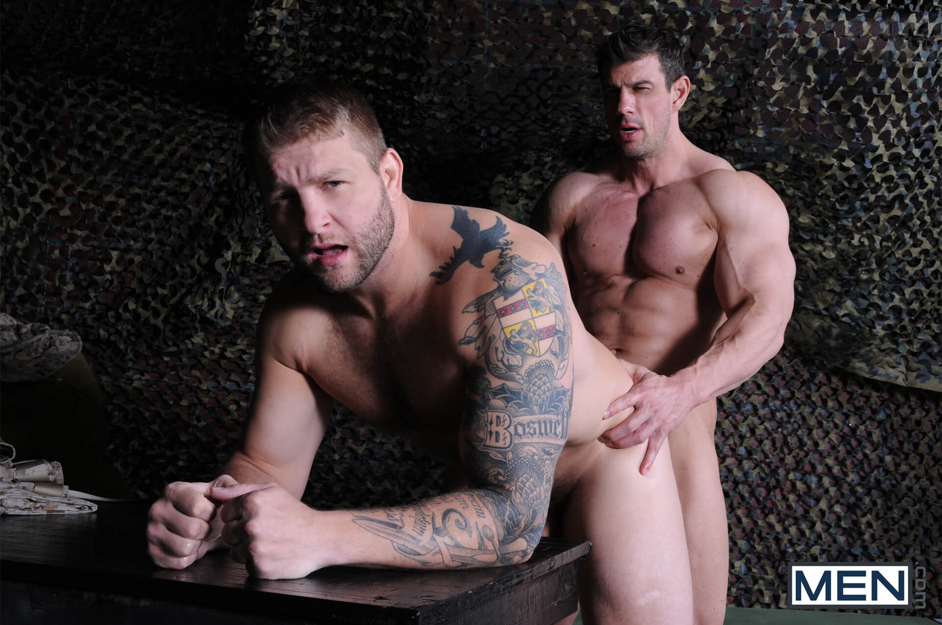 MEN.COM » Drill My Hole » Tour Of Duty Part 1 » Colby Jansen » Zeb Atlas