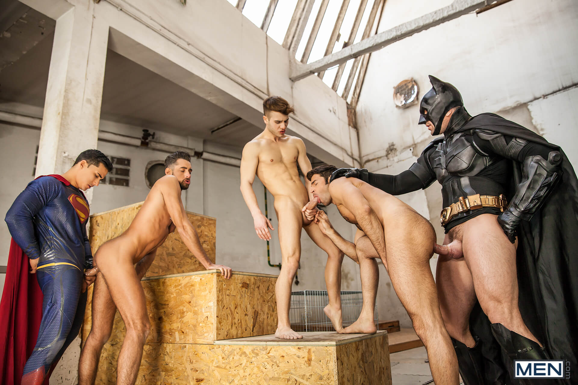 men jizz orgy batman v superman a gay xxx parody part 3 allen king dario beck massimo piano topher di maggio trenton ducati gay porn blog image 44