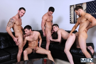 MEN.COM » Jizz Orgy » Brother Husbands » Andrew Blue » Cooper Reed » Donny Wright » Duncan Black » Haigen Sence
