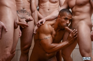 MEN.COM » Jizz Orgy » Football DL Part 3 » Adam Bryant » Cameron Foster » Darin Silvers » Phenix Saint » Robert Axel