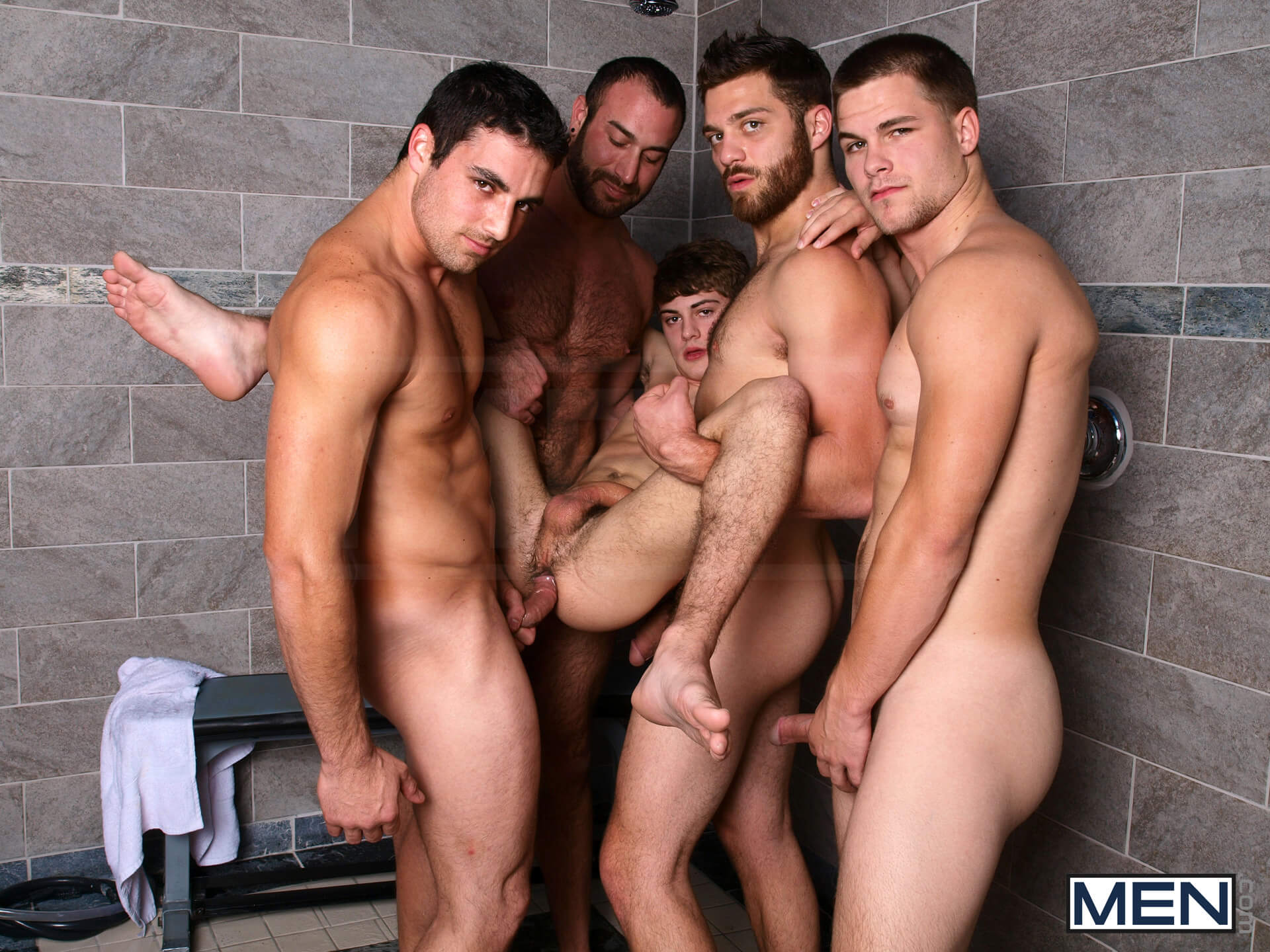 MEN.COM » Jizz Orgy » Jizz Shower » Hunter Page » Jack King » Jimmy Johnson » Spencer Reed » Tommy Defendi