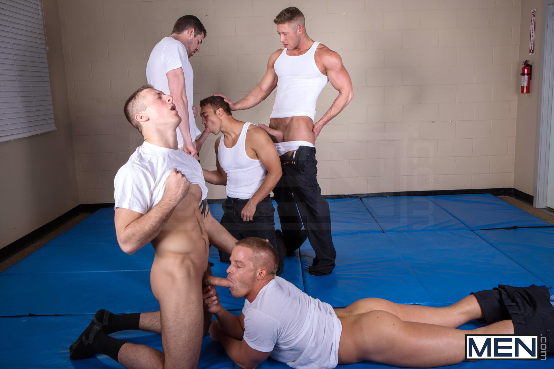 men jizz orgy men in blue part 3 andrew stark connor kline johnny ryder liam magnuson rocco reed gay porn blog image 11