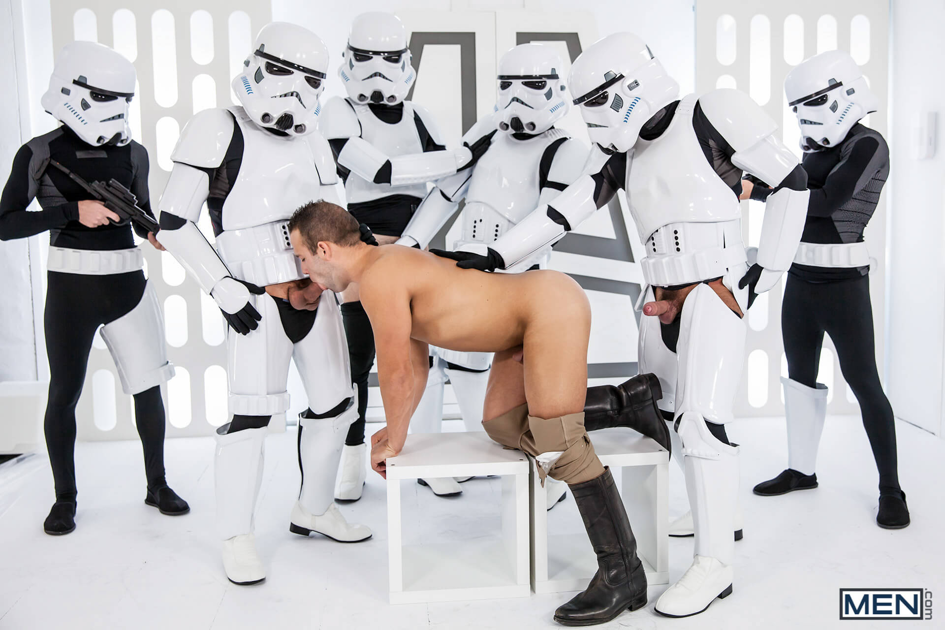 men jizz orgy star wars 4 a gay xxx parody hector de silva luke adams paddy obrian troopers gay porn blog image 63