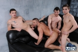 MEN.COM » Jizz Orgy » Stepfather's Secret Part 4 » Dirk Caber » Johnny Rapid » Scott Harbor » Trevor Spade