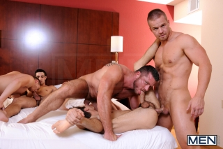 MEN.COM » Jizz Orgy » Turn Me Into A Whore Part 3 » Charlie Harding » Jack King » Jimmy Johnson » Johnny Rapid » Liam Magnuson » Riley Banks