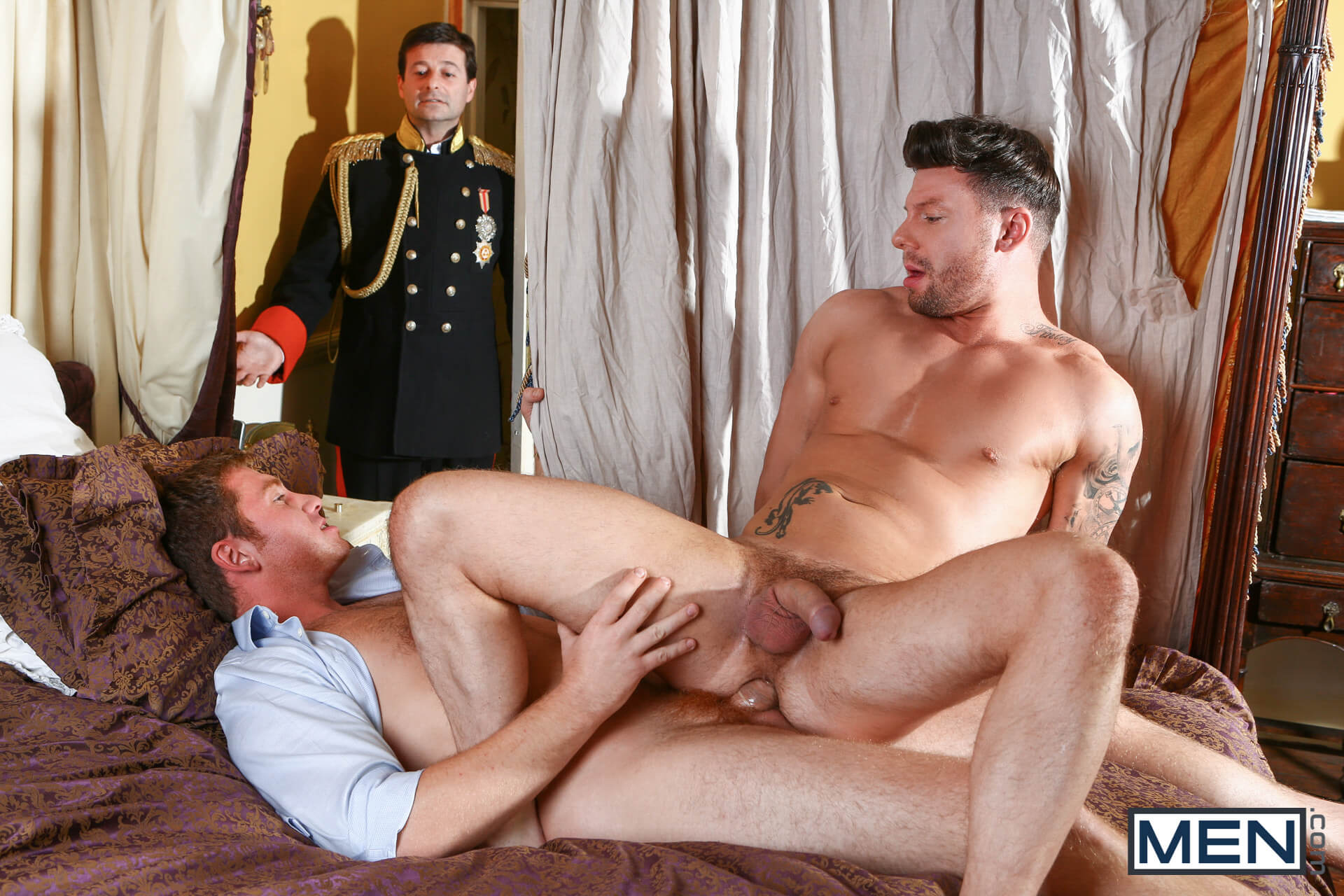men men of uk a royal fuckfest part 1 connor maguire theo reid gay porn blog image 13