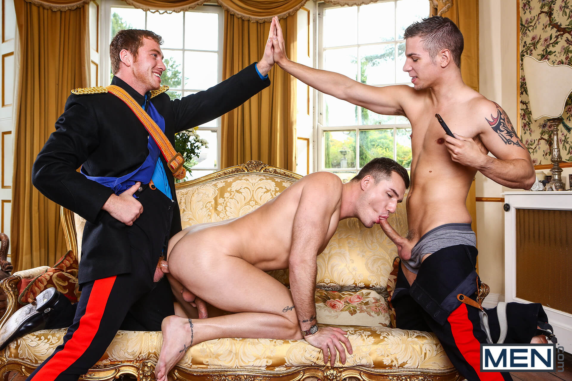 MEN.COM » Men Of UK » A Royal Fuckfest Part 3 » Connor Maguire » Paul Walker » Theo Ford