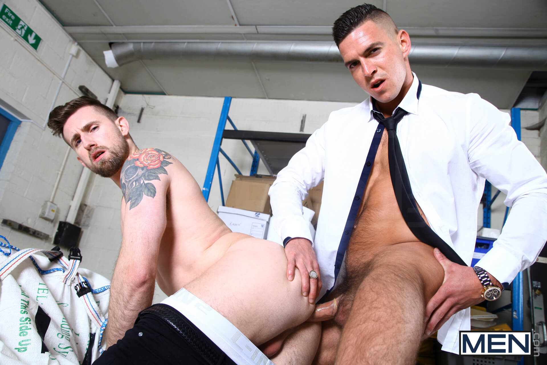 MEN.COM » Men Of UK » Secret Agent Part 2 » Paddy O'Brian » Troy Daniels