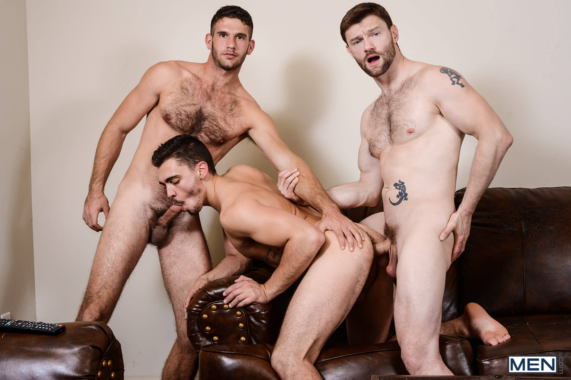 MEN.COM » Str8 To Gay » Naughty Boys Part 3 » Asher Hawk » Dennis West » Jimmy Fanz