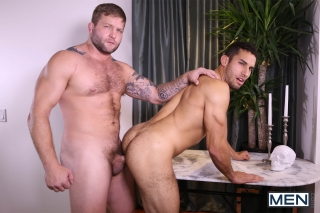 MEN.COM » Str8 To Gay » Straight Man Gay Porn » Colby Jansen » Ricky Decker