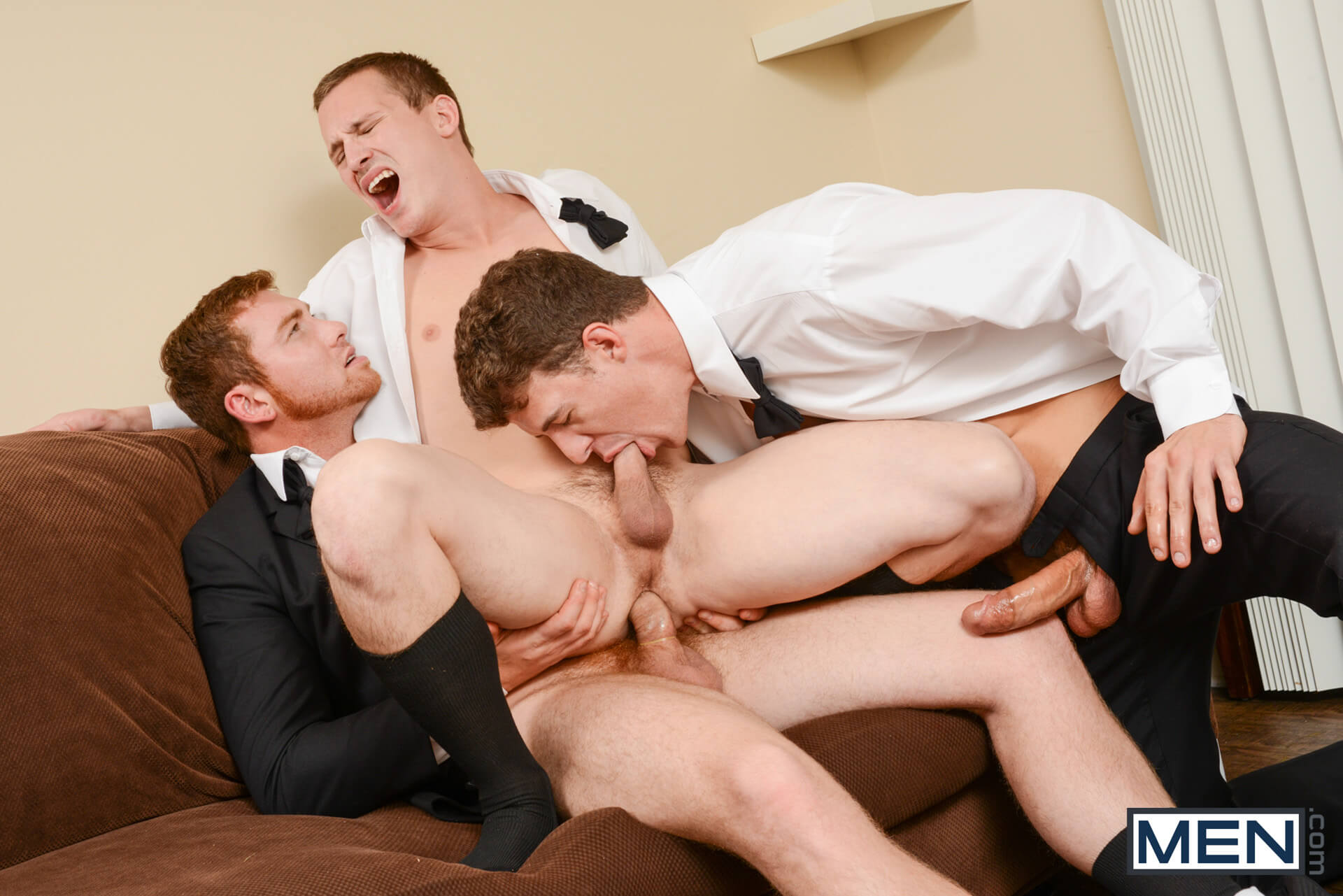 MEN.COM » Str8 To Gay » The Groomsmen Part 2 » Connor Maguire » JJ Knight » Tommy Regan
