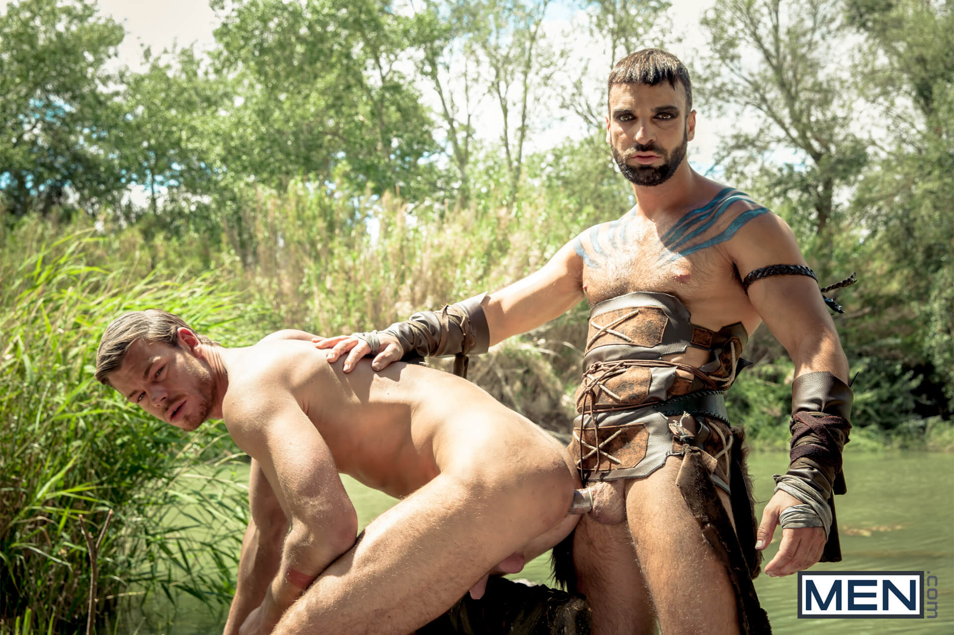 MEN.COM » Super Gay Hero » Gay Of Thrones Part 1 » Abraham Al Malek » Toby Dutch