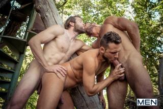 MEN.COM » Super Gay Hero » Howl Part 3 » Colby Keller » Dato Foland » Logan Moore