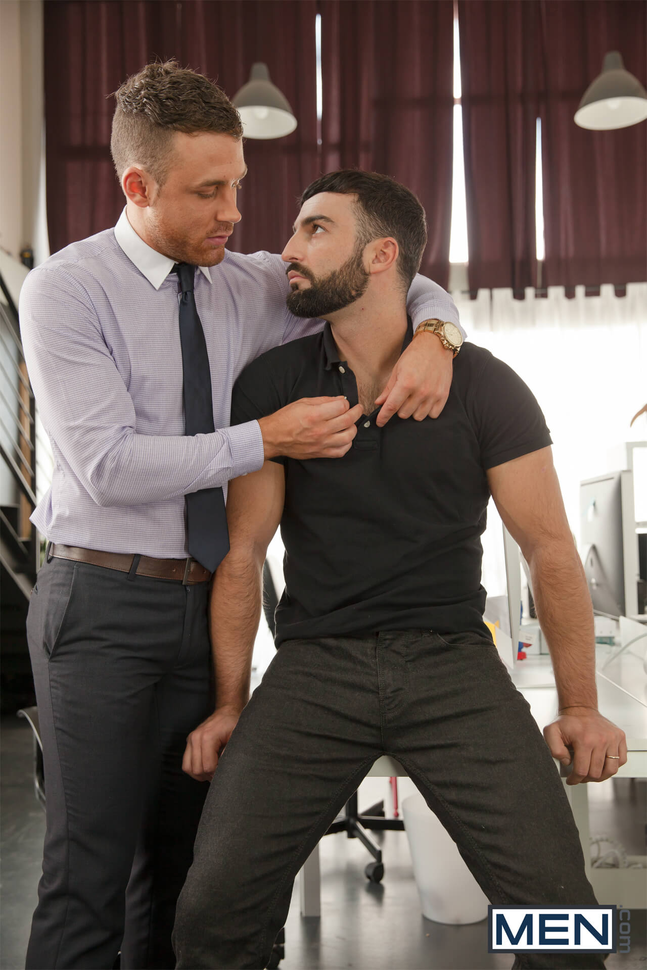 men the gay office executive brothel part 2 abraham al malek logan moore gay porn blog image 5