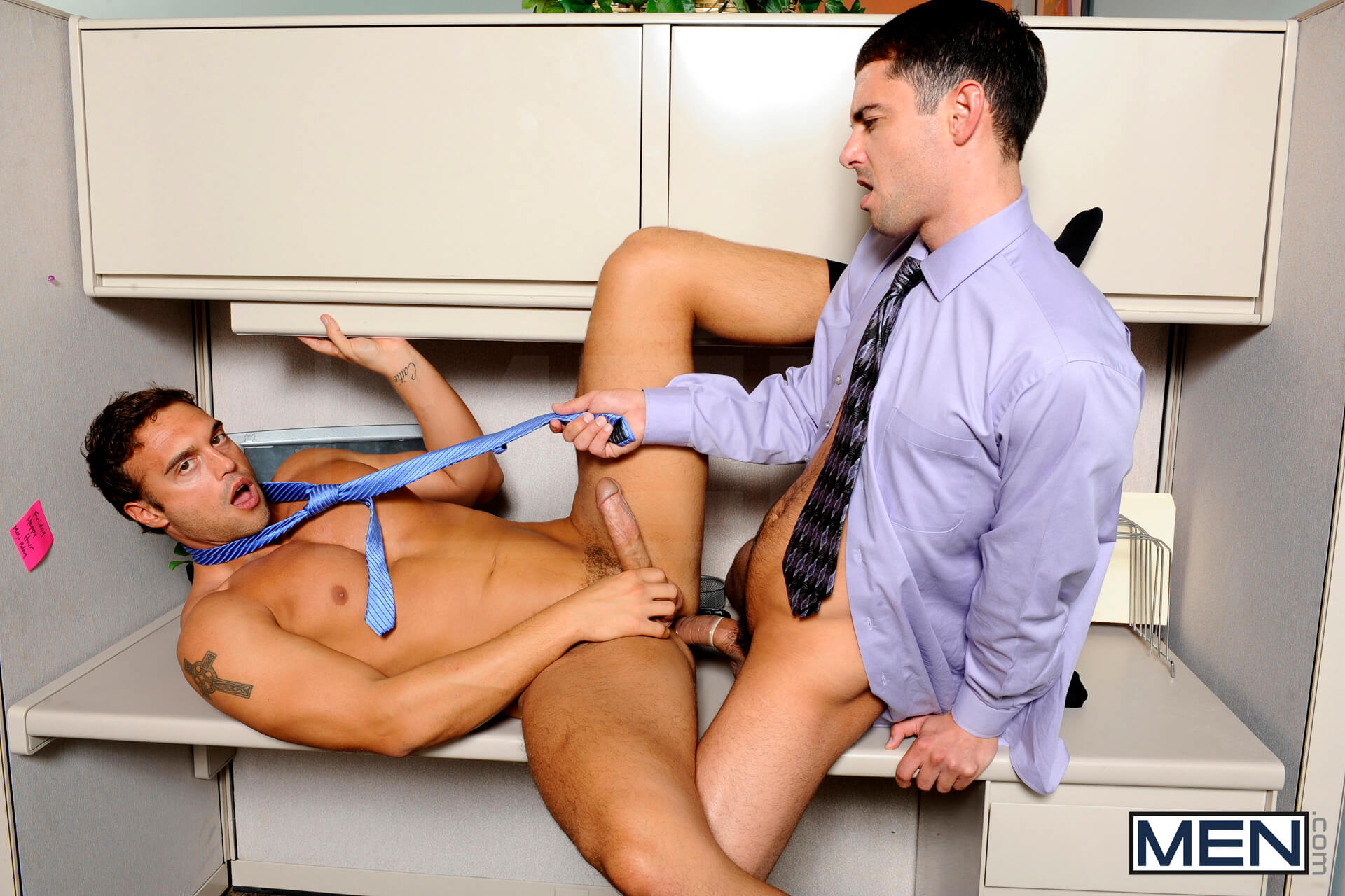 MEN.COM » The Gay Office » Last Day On The Job » Donny Wright » Rocco Reed