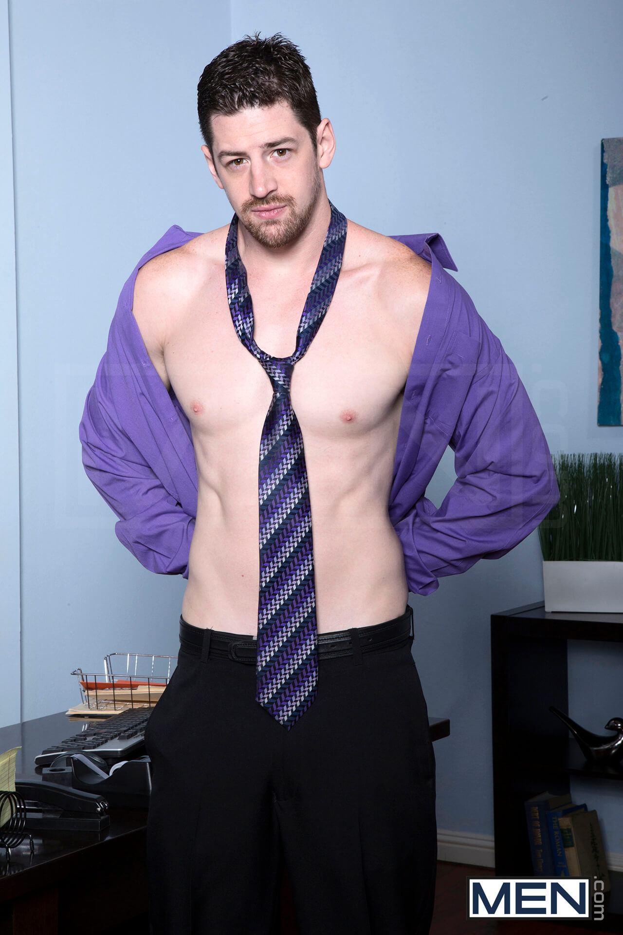 men the gay office the sales call andrew stark chris bines rocco reed gay porn blog image 1