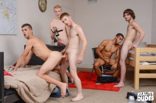 Reality Dudes » Dick Dorm » Blissful Pounding